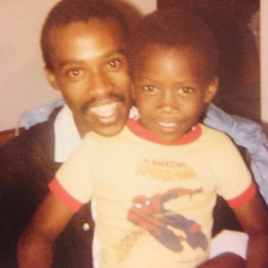 Махершала Али со своим отцом