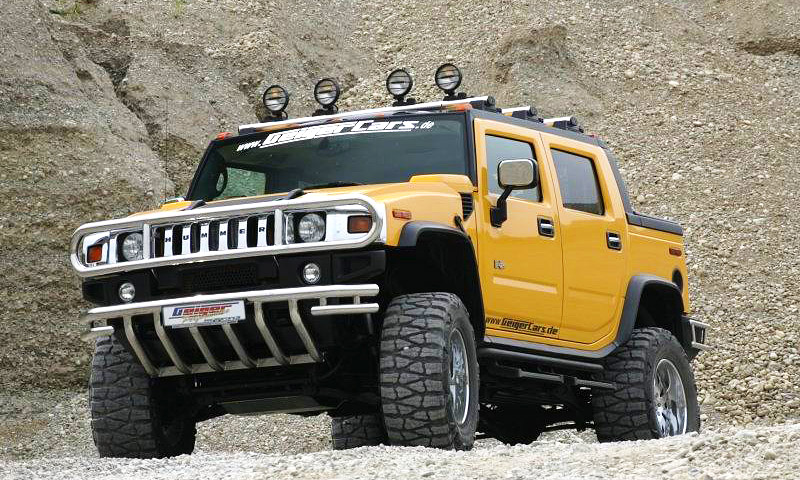 Hummer H2 Hannibal от Geiger Cars