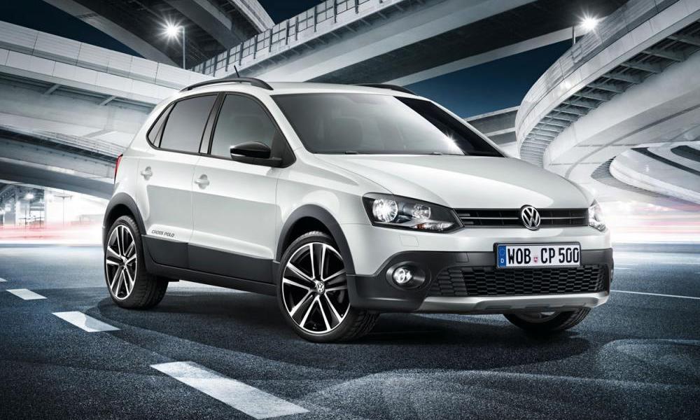 Volkswagen CrossPolo Urban White