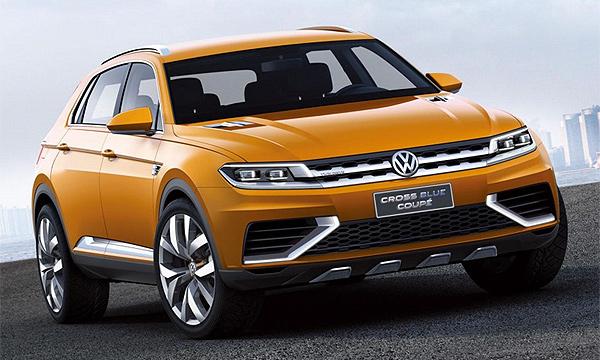 Появились первые снимки нового Volkswagen Tiguan