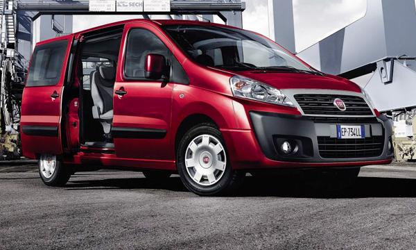 Названы российские цены на Fiat Scudo