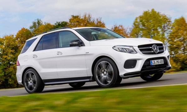 Mercedes представил кроссовер GLE 450 AMG 4Matic