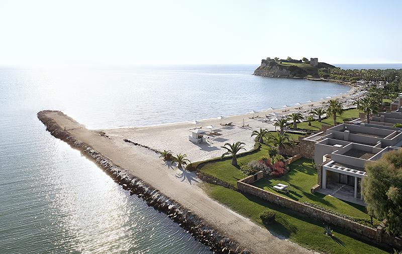 Пляж и отель Sani Asterias