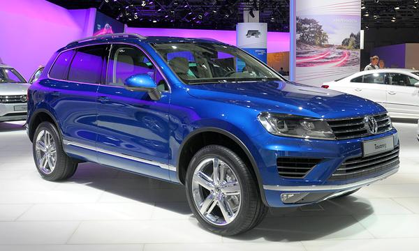 Volkswagen Touareg получит новый мотор