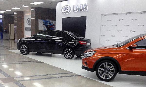 Удлиненный седан Lada Vesta получил название Signature