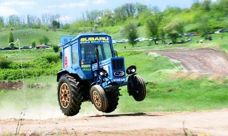 В Ростове пройдут соревнования на тюнингованных тракторах