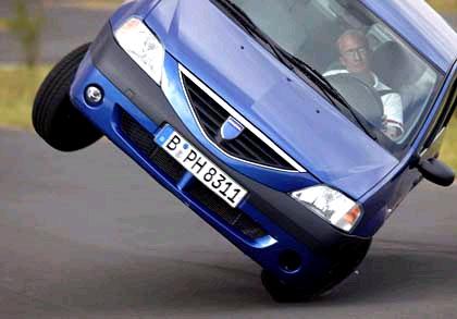Dacia Logan на тесте ADAC