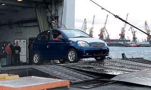 За 1 полугодие через таможню Владивостока ввезено около 90 тыс. автомашин