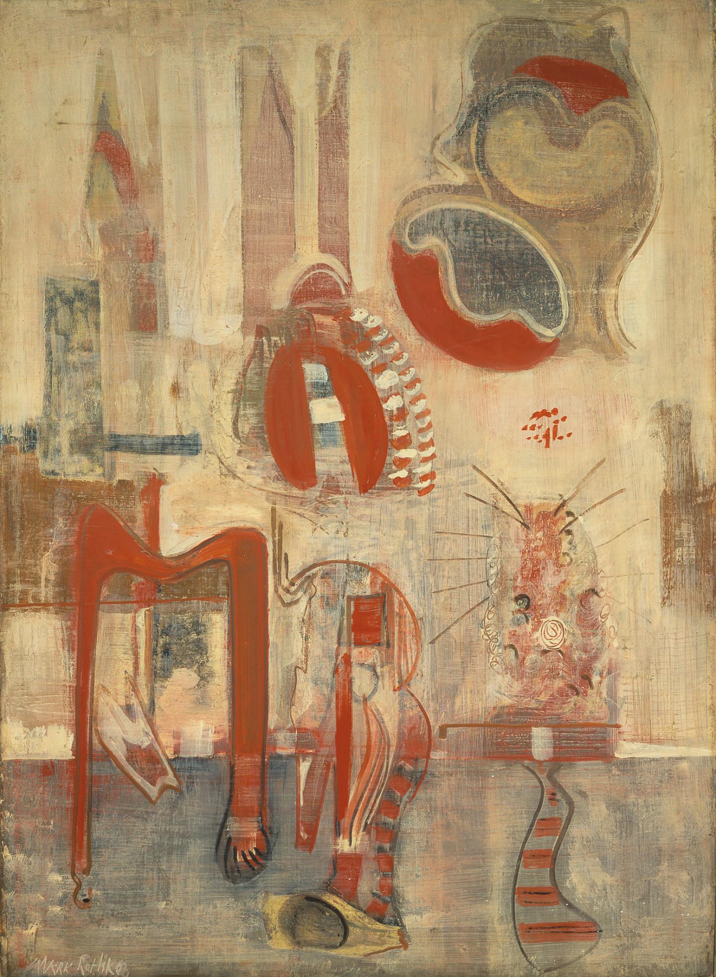 Марк Ротко. «Комната в Карнаке», 1946