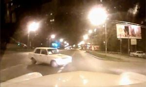 Борец с хамами на дороге разбил свой автомобиль
