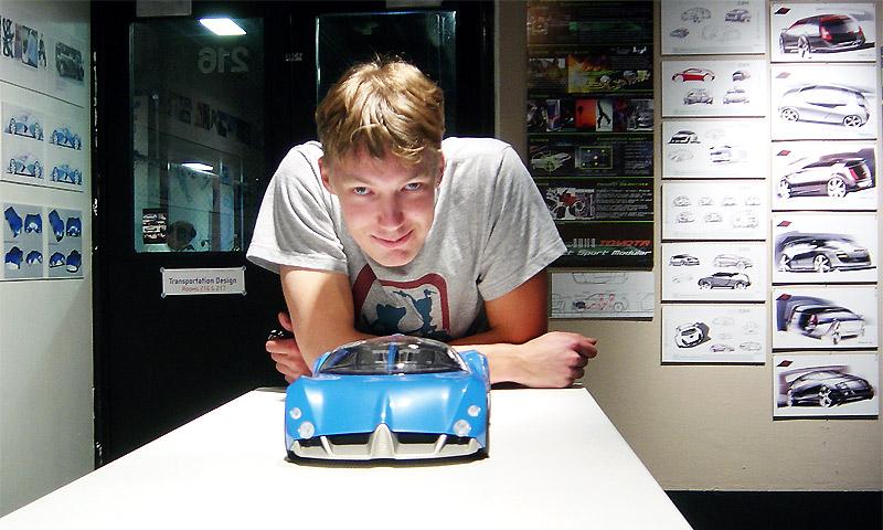 Антон Шаменков – дизайнер Chrysler Group