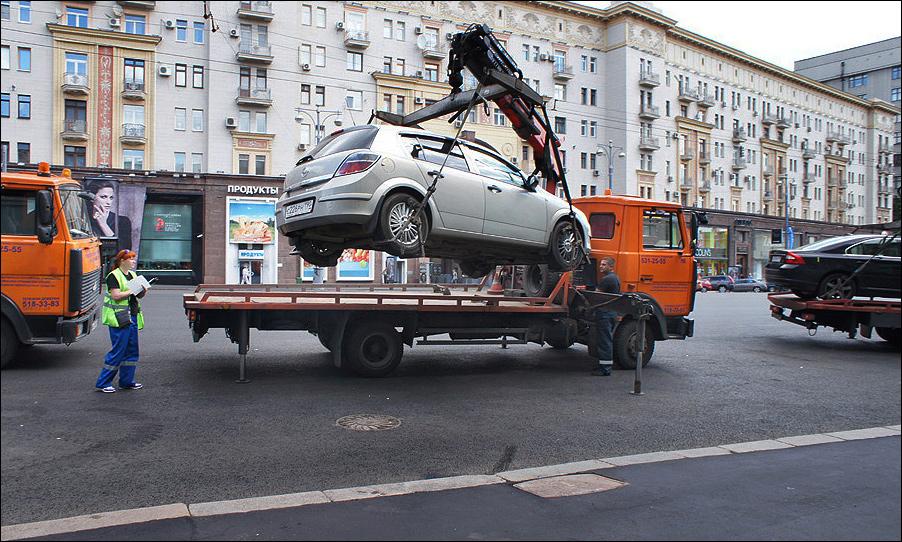 Неправильная парковка обойдется в 9 тысяч рублей
