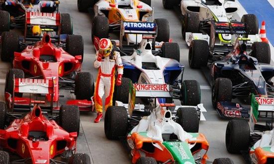 «Формула-1» получит разноцветные шины