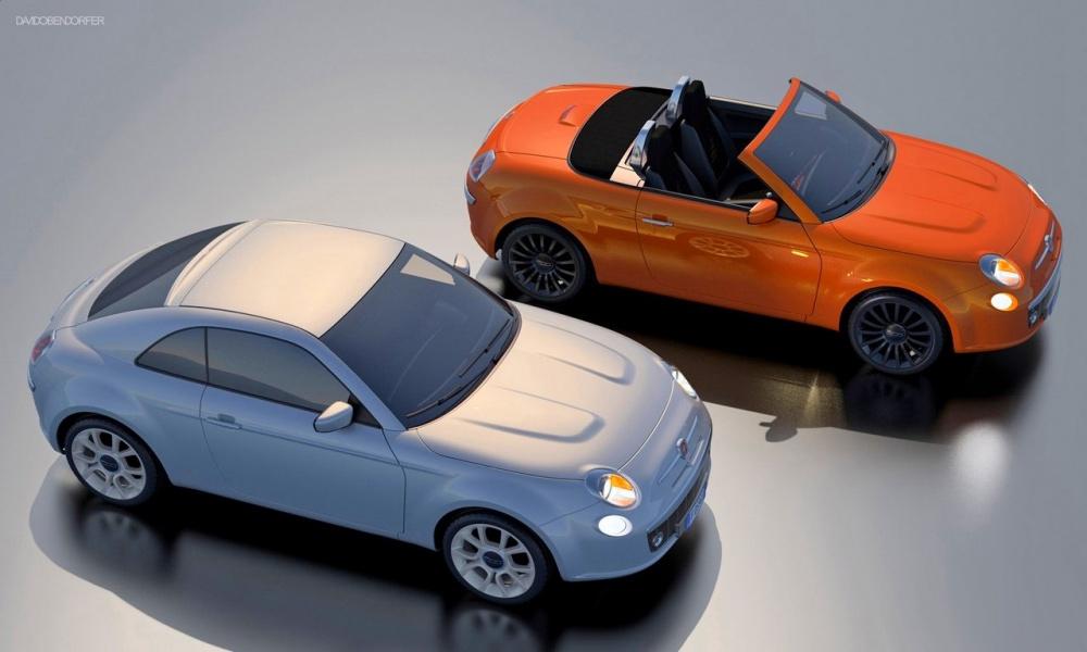Fiat 500: купе, спайдер и кроссовер!