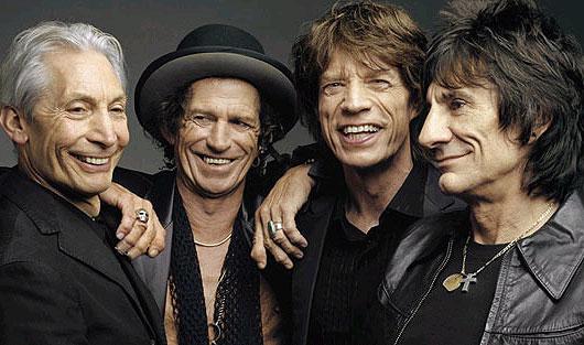 Rolling Stones пересаживаются на Mercedes