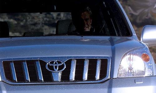 В Москве угнан джип Toyota депутата Госдумы