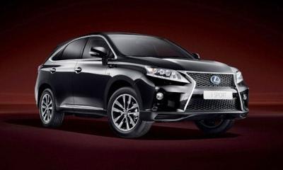 Lexus RX превратится в гибридный спортмобиль