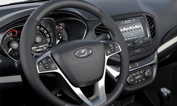 АвтоВАЗ показал салон серийной Lada Vesta