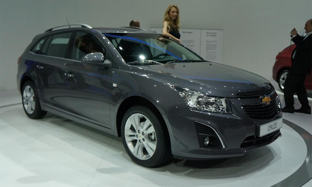 Chevrolet Cruze в кузове универсал появится в России в ноябре