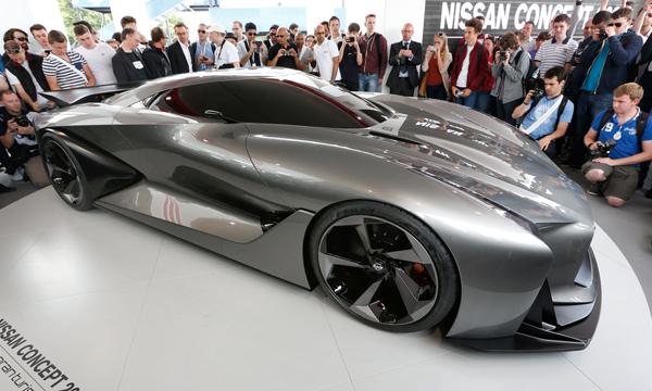 Nissan представил прототип Vision Gran Turismo
