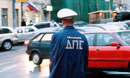 На Кутузовском проспекте в Москве водитель BMW избил инспектора ДПС