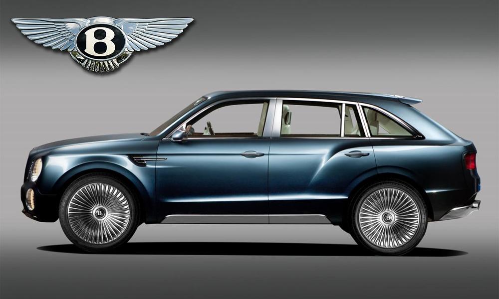 Кроссовер от Bentley назвали «Соколом»