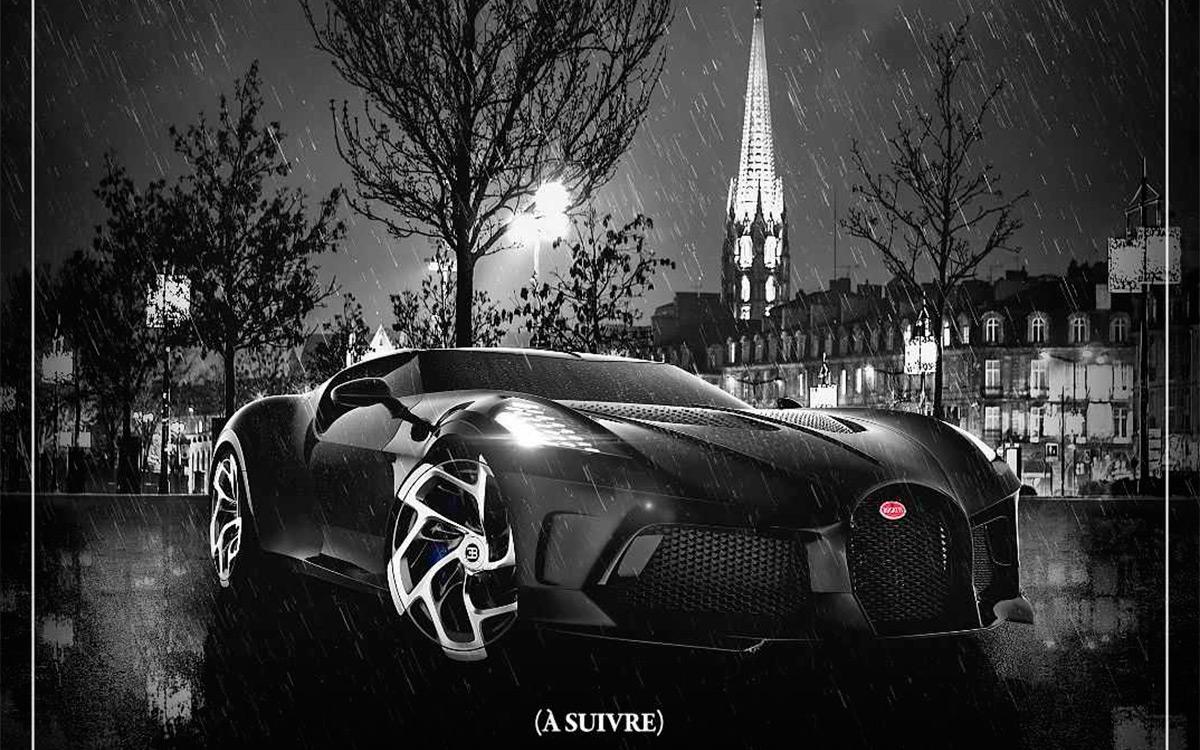 Bugatti анонсировала премьеру своего самого дорогого автомобиля