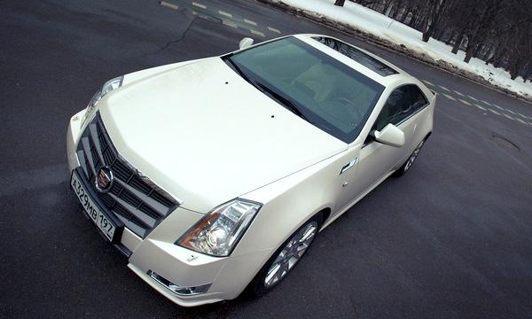Тест-драйв Cadillac CTS Coupe. В погоне за угонщиком
