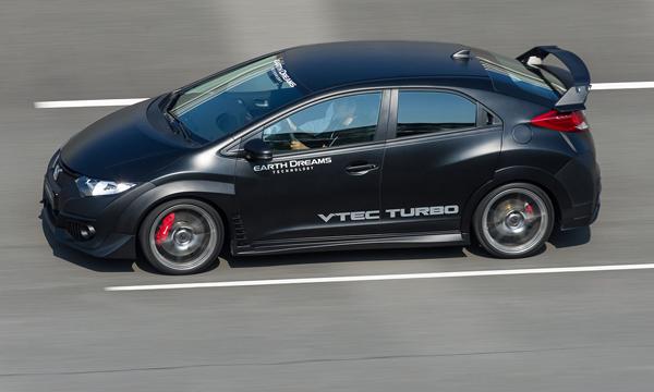 Honda опубликовала первые фотографии Civic Type R