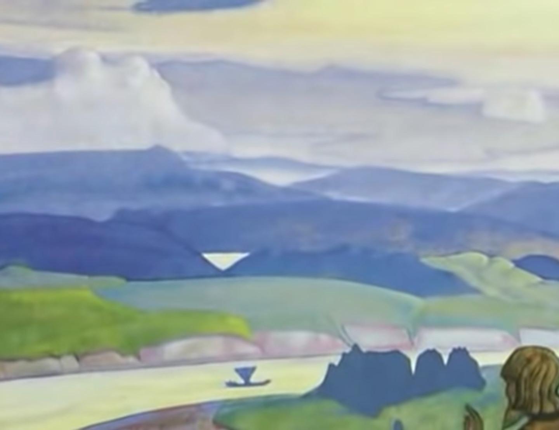 Кадр из фильма «Рерих. Зов космической эволюции»