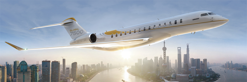 Бизнес-джет Bombardier Global 7500