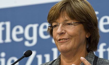 Министр здравоохранения Германии Улла Шмидт