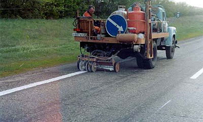 На московские дороги нанесена опасная разметка