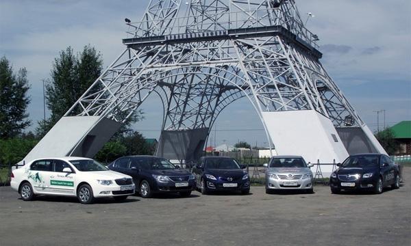 «В Париж бизнес-классом» – cравнительный тест-драйв: Superb, Camry, Mazda6, Insignia, Latitude