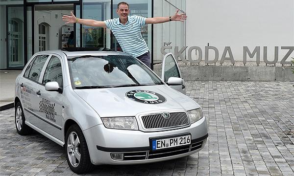 Немец проехал на Skoda Fabia миллион километров за 13 лет