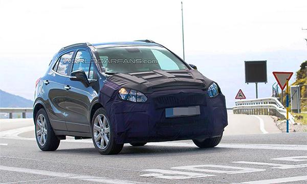 Рестайлинговый Buick Encore впервые замечен на тестах