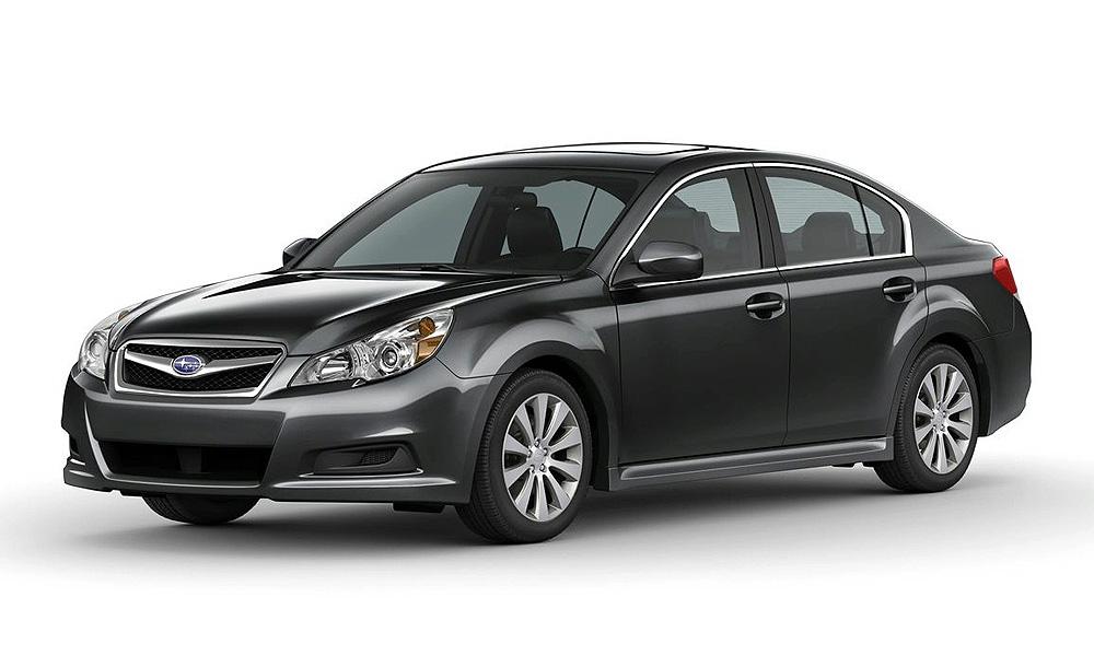 Состоялся предпремьерный показ Subaru Legacy 2010