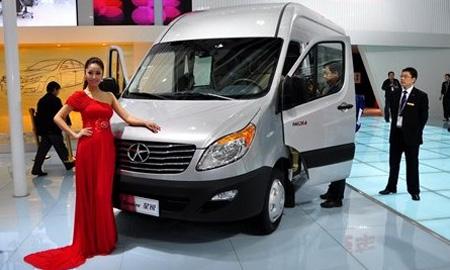 JAC Motors будет продавать легкие грузовые авто в России