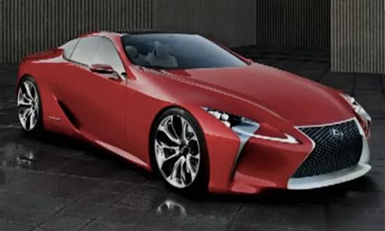 Lexus LF-LC Sports Coupe