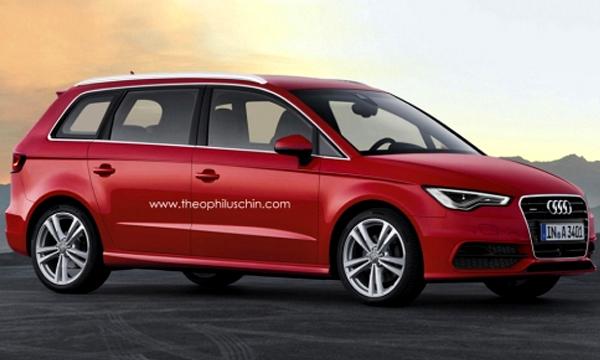 Audi выпустит минивен на базе A3