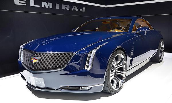 Cadillac представил концепт Elmiraj
