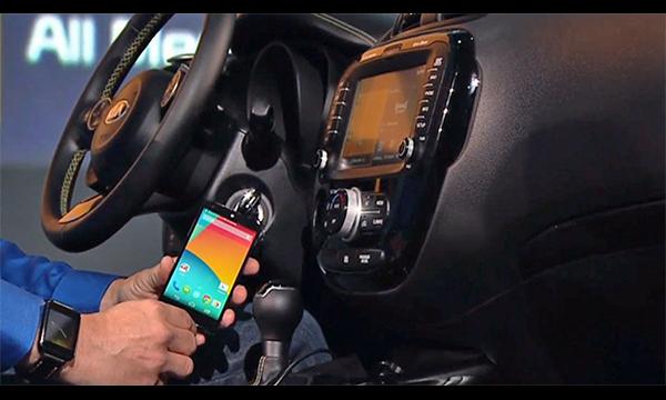 Google представил автомобильную платформу Android Auto