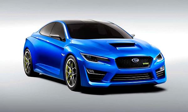 Первые изображения Subaru WRX Concept попали в сеть