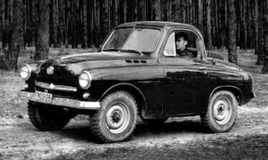 Советские автомобили, которых мы никогда не увидим. Фото