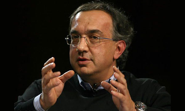 Глава альянса Fiat-Chrysler Серджио Маркионне