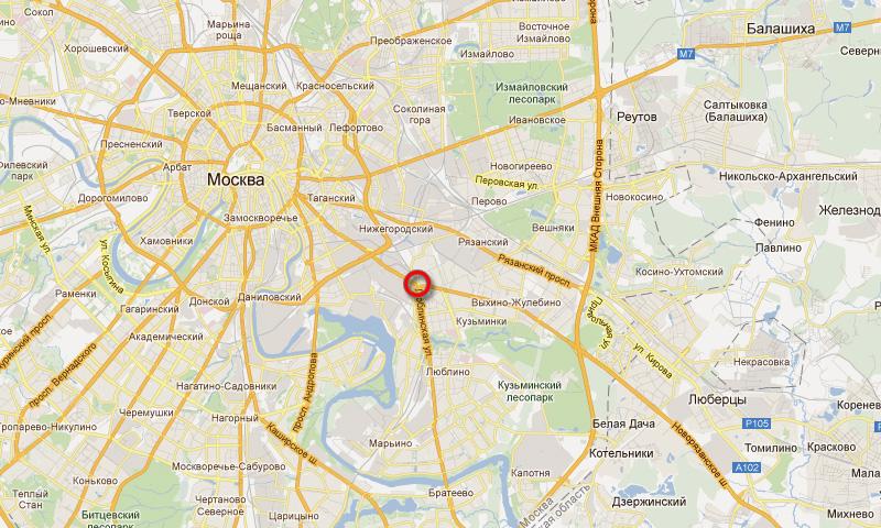 В Москве на пересечении Волгоградского проспекта и Люблинской улицы будет построен тоннель