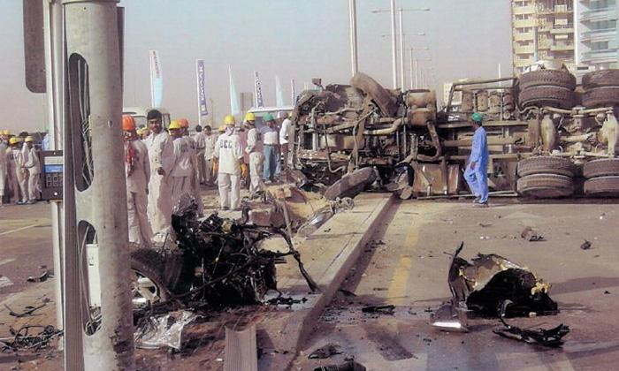 Более 300 человек ранены в крупнейшей автоаварии в истории ОАЭ
