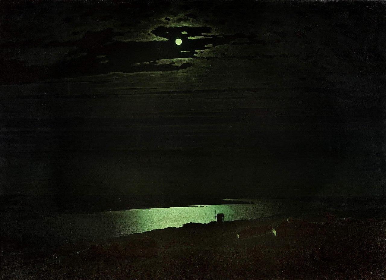 Архип Куинджи, «Лунная ночь на Днепре»