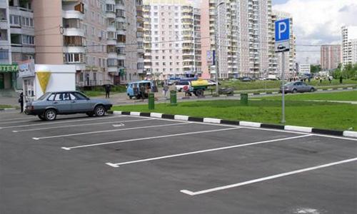 В каждом дворе появится 30 новых парковочных мест