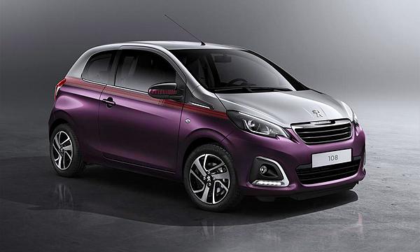 Peugeot рассекретил самую маленькую модель